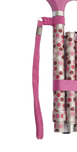 Tragschlaufe für Gehstock und Faltstock diverse Farben, pink