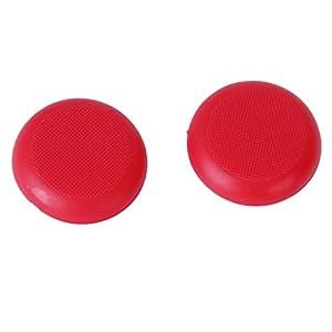 Generic Paar Joystick Kappe Taste Abdeckungen Für Microsoft Xbox Einem Controller – Rot