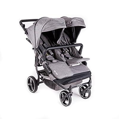 Silla Gemelar NUEVA Easy Twin 3.0 TEXAS ( Edición limitada ) Baby Monsters - + REGALO De La Barra Gemelar + Regalo de un bolso de Polipiel Negro