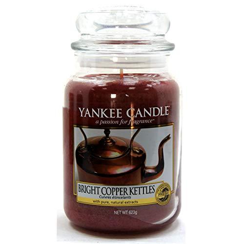 Official Yankee Candle Bright Copper Kettles Tradizionale Classico Signature Fresh Barattolo Grande 623g–Sicuro per Corrispondenza Box
