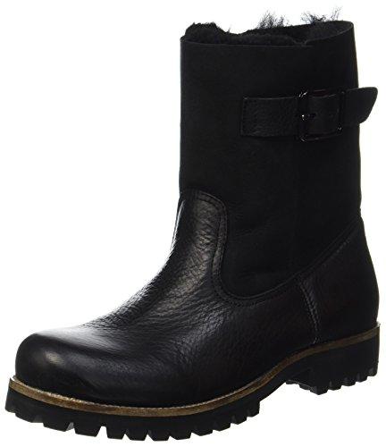 Blackstone Damen OL05 Stiefel, Schwarz (Black), 40 EU