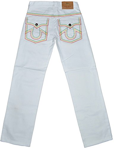 Raw Blue Herren Jeanshose Weiß