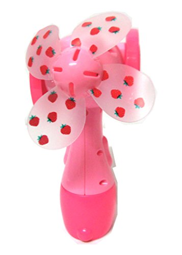 Art box Beautiful Portable Water Mist SPRAY FAN Air Cooler Conditioner Battery Operated toy for all age.  available at amazon for Rs.299