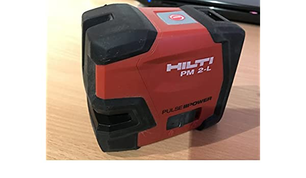 Hilti pm l lineal laser laser set amazon gewerbe
