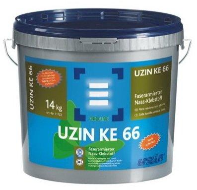 uzin-ke-66-faserarmierter-vinyl-pvc-und-gummiklebstoff-kleber-14kg-eimer