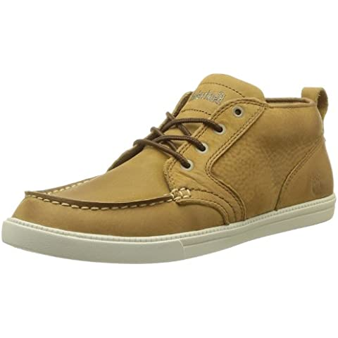 Timberland EKNMRKTLP CHK LT BRO LIGHT BROWN, Mocassini uomo