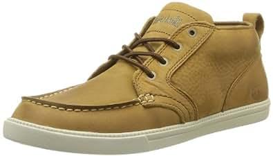Timberland Earthkeepers Fulk Lp Chukka Moc Toe Leather, Baskets mode homme - Marron (Light Brown), 45.5 EU (11 UK) (11.5 US)