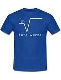 Mathe Ente Wurzel Nte Nerd Männer T-Shirt von Spreadshirt®