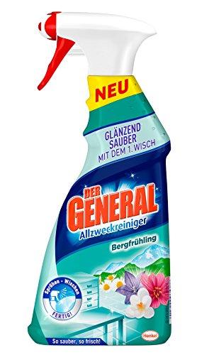 Der General Allzweckreiniger Spray Bergfrühling, 5er Pack (5 x 500 ml)