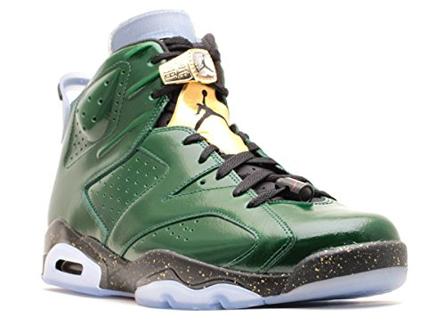 Nike Air Jordan 6 Retro 'Champagne' Green Glow Trainer Size 8 UK