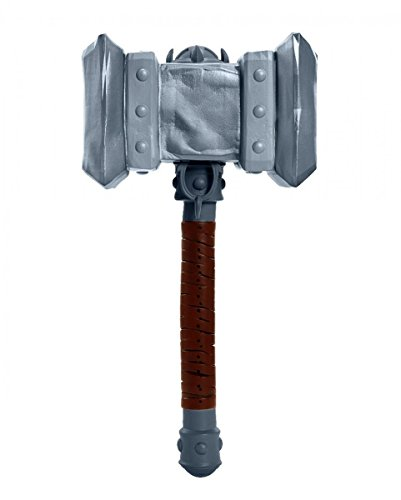 Horror-replik (Warcraft Replik Doomhammer / Warcraft Doom Hammer 35 cm Kunststoff)