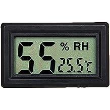 Yeeco Alta Termometro Dell'interno LCD Digitale di Precisione e Igrometro Home Comfort Wireless Monitor Tester di Umidità del Sensore di Umidità del Calibro di Temperatura per la Casa, Auto e Frigorifero ect