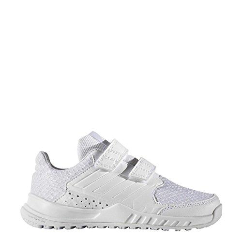 adidas Kinder-Unisex Fortagym Cf K Turnschuhe, Blanc/Blanc/Gris Clair blanc/blanc/gris clair