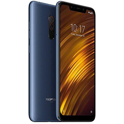 """Xiaomi Pocophone F1 15,7 cm (6.18 """") 6 GB 64 GB Dual SIM hybrid 4G Blue 4000 mAh"""