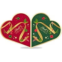 Lindt Pärchen-Adventskalender 2021 für 2 Personen | 2 x 252 g Schokolade zu Weihnachten | Ideales Schokoladen-Geschenk
