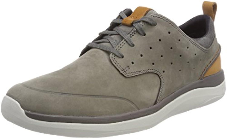 Clarks Herren Garratt Lace Sneaker  Billig und erschwinglich Im Verkauf