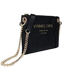 b341c14807eb2 Versace Jeans Couture Damen Bag Umhängetasche Schwarz (Nero) 1x17.5x26  centimeters