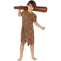 Atosa - Disfraz de cavernícola para niño, talla M, 5-6 años (111-28286)