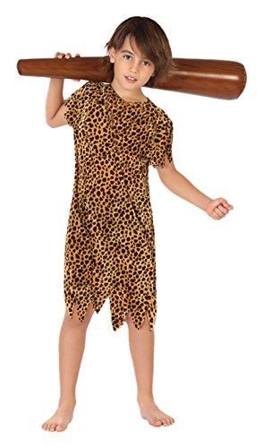 Imagen de atosa  disfraz de cavernícola para niño, talla m, 5 6 años 111 28286
