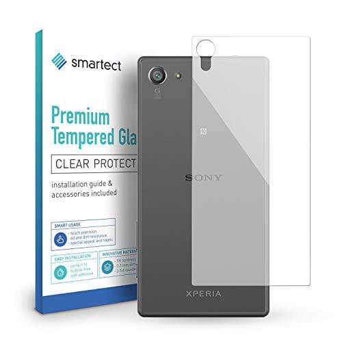 smartect Panzerglas für Sony Xperia Z5 Compact [Rückseite] - Bildschirmschutz mit 9H Härte - Blasenfreie Schutzfolie - Anti Fingerprint Panzerglasfolie