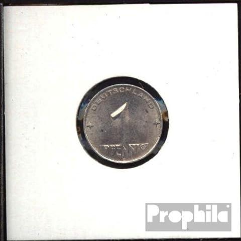 DDR Jägernr: 1505 1953 A vorzüglich Aluminium 1953 1 Pfennig Hammer und Zirkel zwische (Münzen für Sammler)