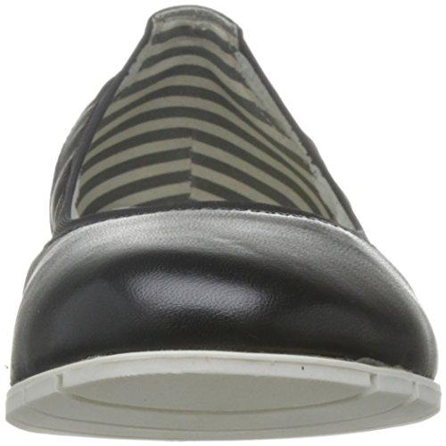Tamaris1-1-22109-28 855 - Scarpe chiuse Donna Pelle nera