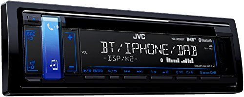 JVC KD-DB98BT CD-Receiver mit Digitalradio (DAB+) schwarz -