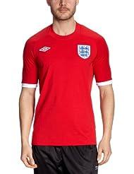 umbro ENGLAND Trikot Away 2010/2011 rot