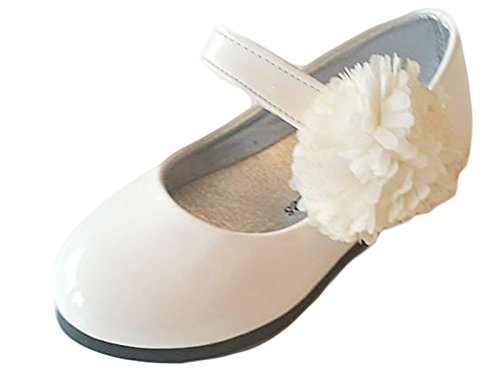 familientrends, Ballerine bambine, Bianco (bianco), 22