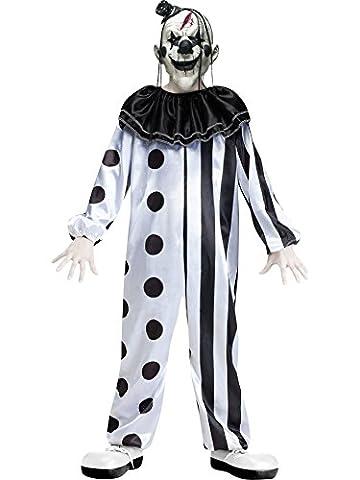 Fun World Killer Clown Child Costume Large (12-14) by Fun