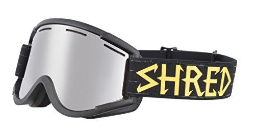 Shred Nastify Walnuts - Silver - Ski and Snowboard Goggles