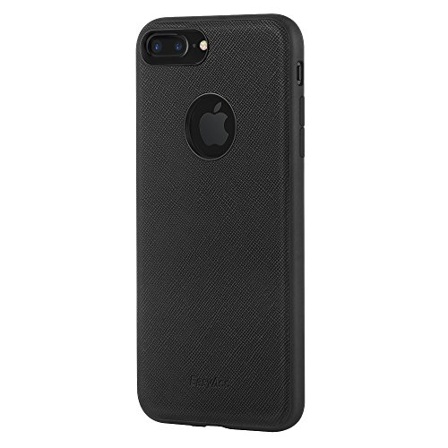 iPhone 7 Plus Custodia, Easyacc per iPhone 7 Plus Protettiva Case Cover con Piastra Magnetica di Acciaio al Manganese Su Misura per iPhone 7 Plus - Nera