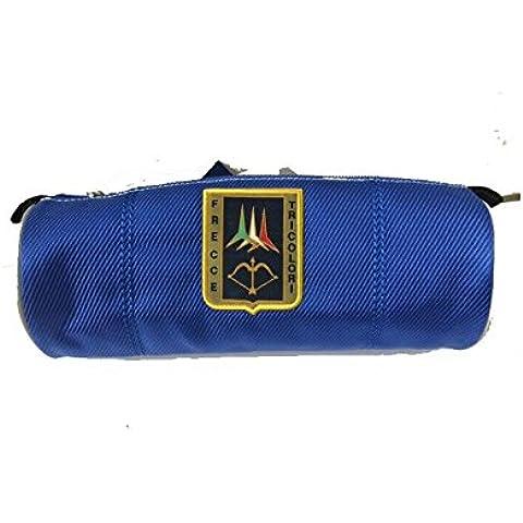 Frecce Tricolori astuccio tombolino rotondo - blu - aereonautica militare