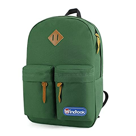Windtook 28L Daypack for Camping/Hiking/School/Casual/Kids and Traveling Backpack