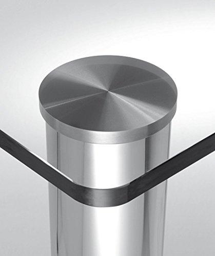 Gedotec Rond Table Pied Meuble - Couvercle de Fixation de Pied de...
