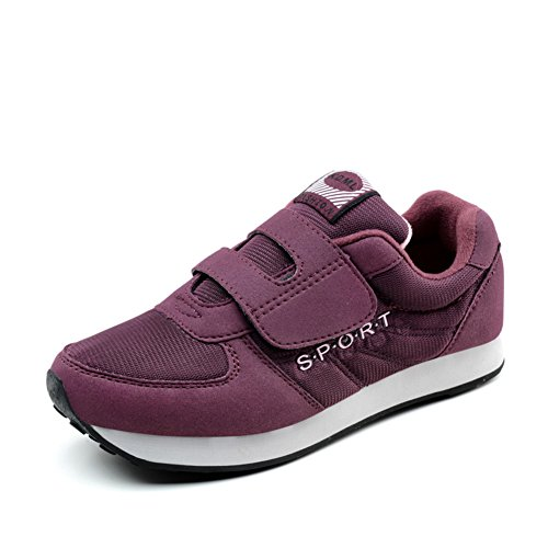 chaussures de marche AUTOMNE/Vieilles chaussures de sport/vieilles espadrilles casual/Soft anti-dérapant chaussures pour la vieille dame C