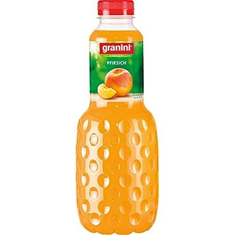 granini melocot n de n ctar 6 pack 6 x Botella de 1 L