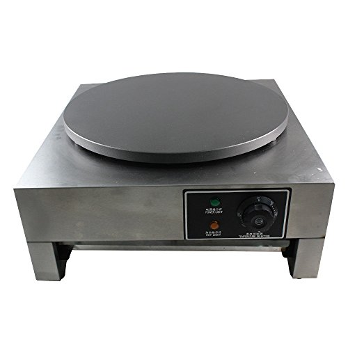Sartén crepes profesional máquina crepes 3000 W