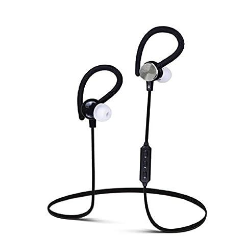 Rcool Drahtlose Bluetooth-Kopfhörer Wunder Sport Kopfhörer für Handy Schwarz