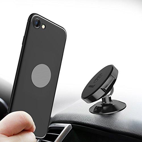 Magnetische Auto Handyhalterung Baseus Universal KFZ Magnet Handyhalter Magnethalterung Autohalterung Halter(Schwarz)