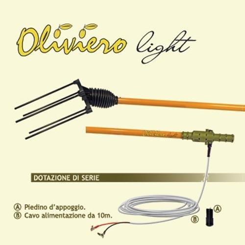"""ABBACCHIATORE SCUOTIOLIVE A BATTERIA """"OLIVIERO"""" LIGTH"""