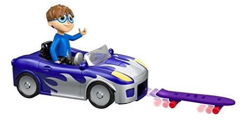 Mattel Alvin und die Chipmunks Fahrzeug Simon Super Skating Sports Car (Alvin Chipmunks Spielzeug)