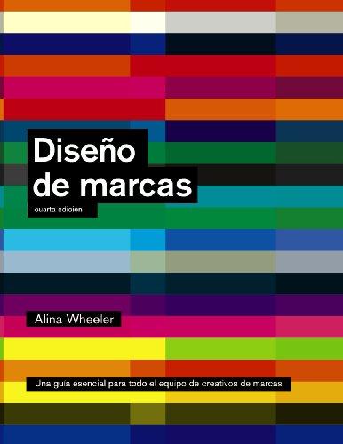 Portada del libro Diseño de marcas (4ª edición) (Espacio De Diseño)
