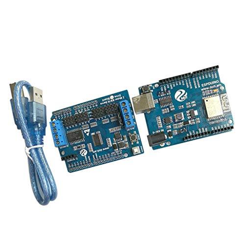 Sharplace Kits De Cartes Arm pour Contrôleur De Robot WiFi Compatibles avec Servo Arduino Motors - Servo V1 de Arduino