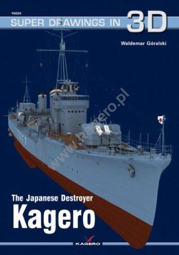 The Japanese Destroyer Kagero (Super Drawings in 3D) por Waldemar Goralski