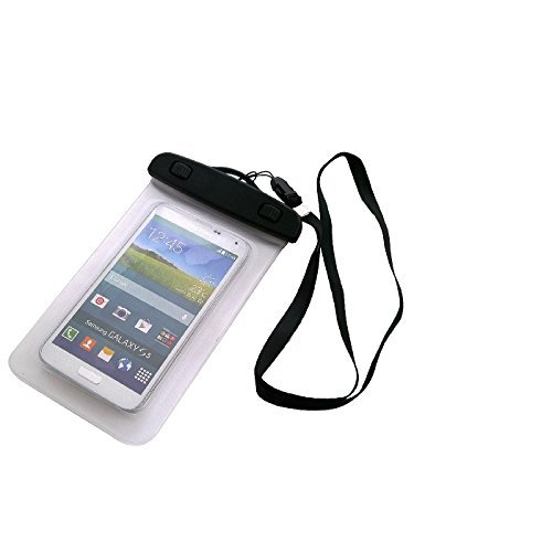 Price comparison product image Universal Beach Bag / Waterproof raincover / Snow Case for Sony, Samsung, Huawei, Motorola, Medion, UHAPPY, Haier, Leagoo, Cubot, TIMMY, odys, Blackview, Uhans, Transparent protection against dust, sa