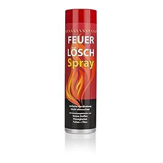 Smartwares Feuerlöschspray, für Fest-und Fettbrand/ ABF Feuerlöscher, FS600DE