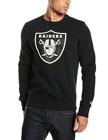New Era 11073792 - Sweat-shirt - Manches longues - Homme - Noir (Black) - Medium (Taille fabricant: