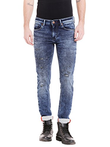 KILLER Men's Skinny Fit Jeans (E-9573 EDIO SKFT MDVLINDG_Blue_30W x 34L)  available at amazon for Rs.1850