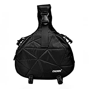 CADeN DSLR&SLR Sling Cross Body Camera Bag with Tripod Holder for Sony Nikon Coolpix,Kodah,Olympus,Pentax